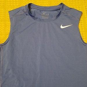 Sleeveless Nike Dri-fit shirt
